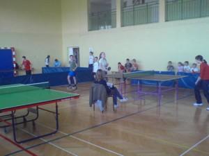 Rozpoczęto V edycję Ekumenicznej Olimpiady Sportowej Zawody w tenisie stołowym